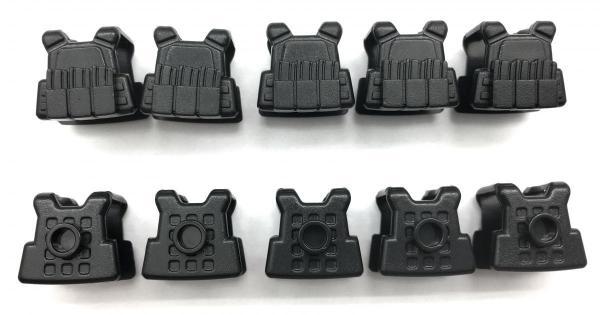 Modern Commander's vest, Version 2, black (10x)