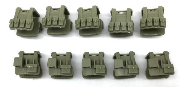 Tactical Vest B12, light green (10x)