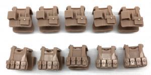Tactical Vest B12, sand beige (10x)
