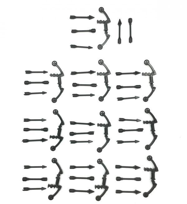 High-Tech Bow No. 27, Black (10x)
