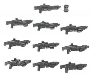 Gun No. 28, Black (10x)