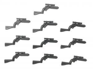 Gun No. 29, Black (10x)