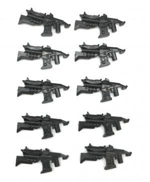 Gun No. 50, Black (10x)