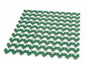 100 pcs, LIMB ELEMENT,  Green