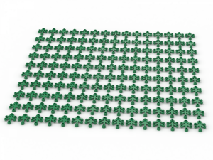 150 pcs,  LIMB ELEMENT, SMALL, Green