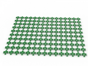 150 pcs, LIMB ELEMENT, SMALL, Bright Green