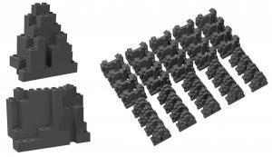 Felsenset, 40 Stück