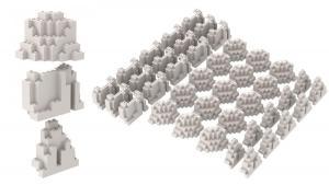 Felsenset, 40 Stück, White