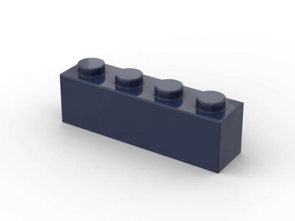 500 pcs 1x4 brick, Dark Blue