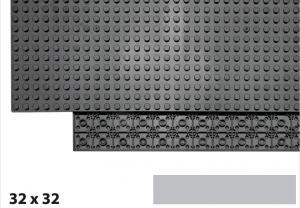32x32 Plate, Light Bluish Gray