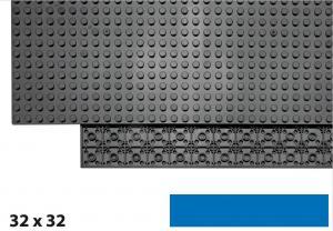 32x32 Plate, Blue