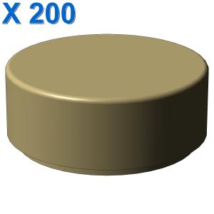 FLAT TILE 1X1, ROUND X 200