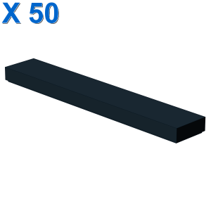 FLAT TILE 1X6 X 50