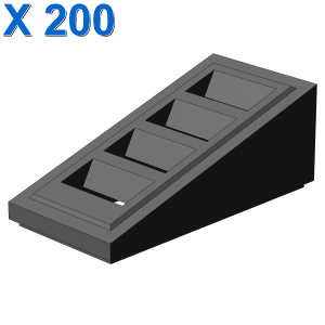 ROOF TILE W. LATTICE 1x2x2/3 X 200