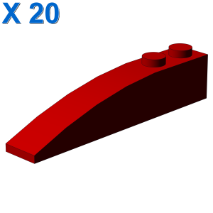 RIGHT SHELL 2X6 W/BOW/ANGLE X 20