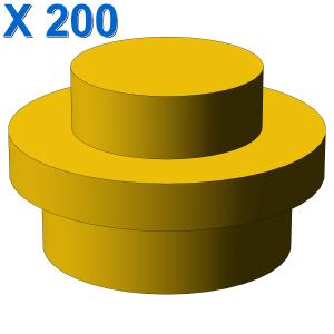 PLATE 1X1 ROUND X 200