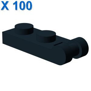 PLATE 1X2 W/SHAFT Ø3.2 X 100
