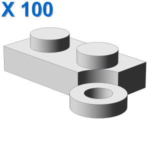 HINGE PLATE 1X2 II X 100