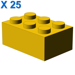 BRICK 2X3 X 25
