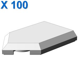 FLAT TILE 2X3 W/ ANGLE X 100