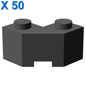 Brick 2x2 w. angle 45 degrees X 50