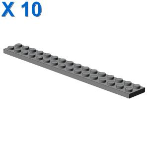 PLATE 2X16 X 10