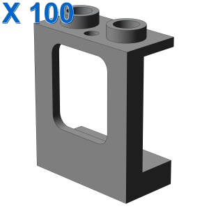 WALL ELEMENT 1X2X2 W. WINDOW X 100