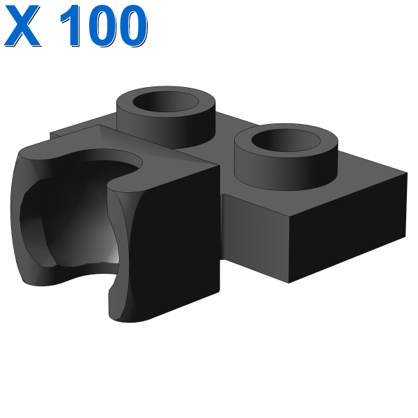 PLATE 1X2 BALL CUP / FRICTION MIDDLE X 100