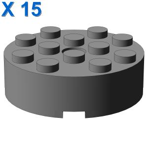 BRICK 4X4 ROUND W. Ø4.9 W. KL. X 15