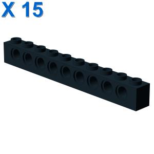 TECHNIC BRICK 1X10 Ø4.9 X 15