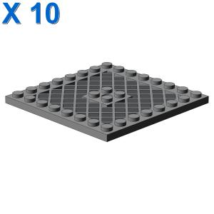 GRID PLATE 8X8 X 10