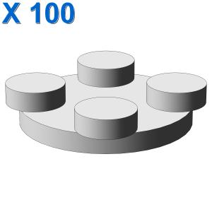 TURN PLATE 2X2, UPPER PART X 100