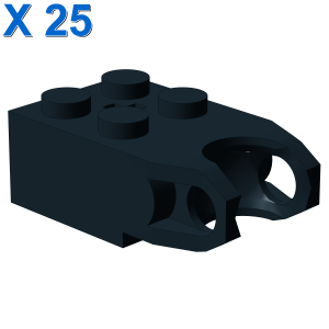 BRICK 2X2 W. CUP FOR BALL X 25