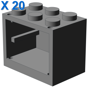 CUPBOARD 2X3X2 X 20