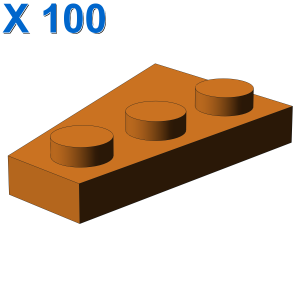 RIGHT PLATE 2X3 W/ANGLE X 100