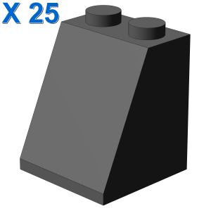 ROOF TILE 2X2X2/65 DEG. X 25