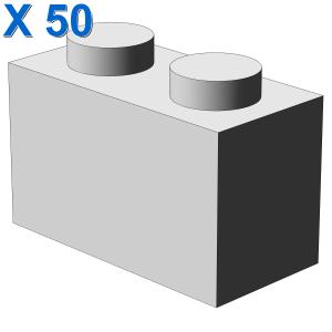 BRICK 1X2 X 50
