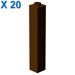 BRICK 1X1X5 X 20