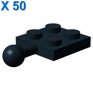 PLATE 2X2 W. BALL X 50