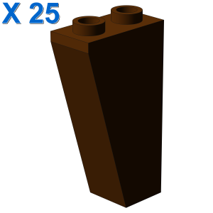ROOF TILE 1X2X3/74° INV. X 25