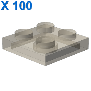 PLATE 2X2 X 100