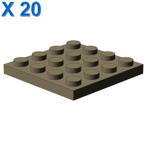 PLATE 4X4 X 20