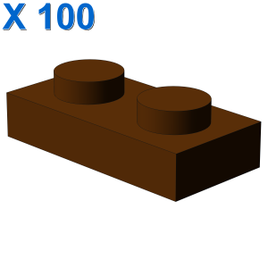 PLATE 1X2 X 100