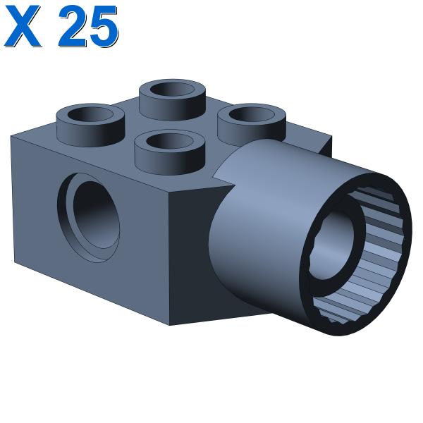 BRICK 2X2 Ø4.85 FEMALE X 25