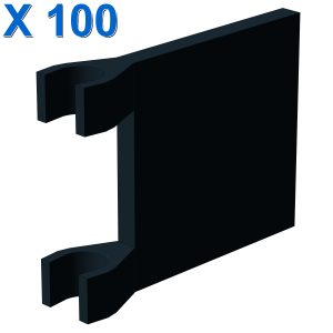 FLAG WITH 2 HOLDERS X 100