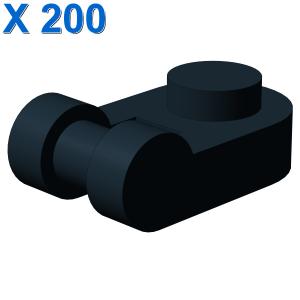 PLATE 1X1 ROUND W/3.2 SHAFT X 200