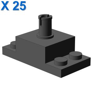PLATE 2X4/2X2X1 W. VERTICAL SN X 25