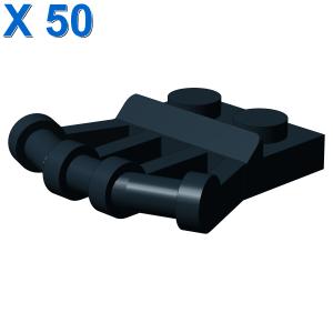 PLATE 1X2 W.Ø3.2 SHAFT 22.5 D. X 50