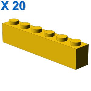 BRICK 1X6 X 20
