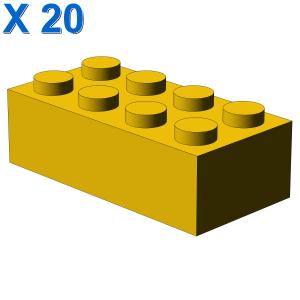 BRICK 2X4 X 20